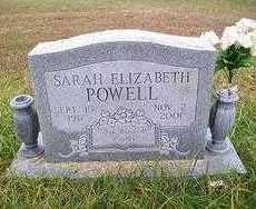POWELL, SARAH ELIZABETH - Baxter County, Arkansas | SARAH ELIZABETH POWELL  - Arkansas Gravestone Photos