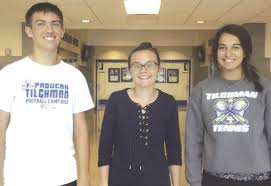 Three Tilghman students named Human Rights Commission interns | Local News  | paducahsun.com