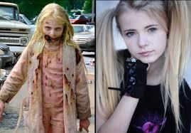 zombie walking dead makeup
