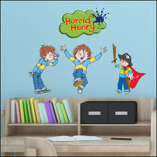 4 Horrid Henry Bedroom Decor Full Colour Wall Sickers Quality Decal Each 30cm H 202120658525 2 Bespoke Graphics
