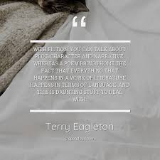 fiction you can talk about plo terry eagleton about home
