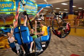 arcades go karts theme parks