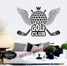 Amazon Com Golf Wall Decal Golf Decals Golf Quotes Decals Sport Wall Decals Vinyl Sticker Room Decal 1681re Home Kitchen