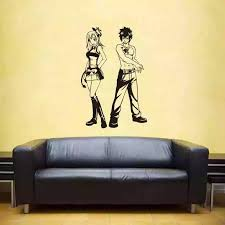 Fairy Tail Wall Decal Vinyl Wall Stickers Decal Decor Home Decorative Decoration Anime Car Sticker Wall Stickers Aliexpress