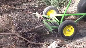 stumpman s stick rake ride on
