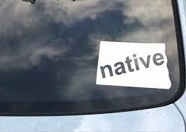 Kansas Native State Decal Wawhat