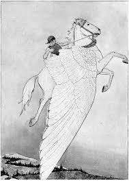 Kleurplaat Pegasus Op Gevleugeld Paard Gratis Kleurplaten Om Te