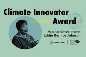 Climate Innovator Award Honoring Congresswoman Eddie Bernice ...