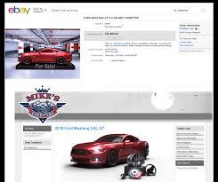 money selling car parts on ebay uk