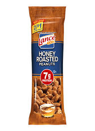 honey roasted peanuts lance