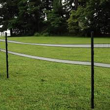Fi Shock 48 In Plastic Black Step In Fence Post A 48b The Home Depot