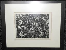 EFFIE MAY JONES (B. 1900), ARTIST'S PROOF ETCHING-【Deal Price Picture】