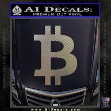 Bitcoin D1 Decal Sticker A1 Decals