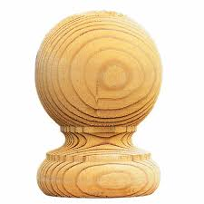 Pk Of 2 Ball Finials And Post Caps Buy Fencing Direct