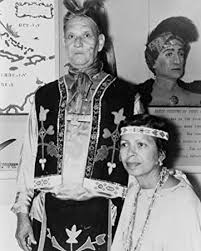 Amazon.com: 1963 photo Yuchi Indians Rufus George, standing, and wife  Addie, seated, 8x10 Photograph - Ready to Frame: Photographs