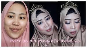 tutorial make up ala pengantin msia