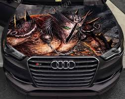 Vinyl Car Hood Full Color Graphics Decal Spawn Comics Antihero Etsy