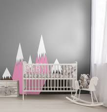 Pink Mountainswall Decals Coloraydecor Com