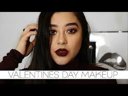 valentines day makeup tutorial 2017