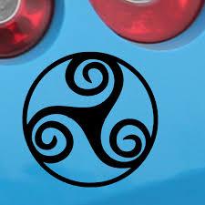 Hotmeini Car Sticker Jdm Styling Window Bumper Decal Vinyl Truck Fridge Waterproof Triskel Goddess Wicca Pentacle Decal 5 5inch Car Stickers Aliexpress