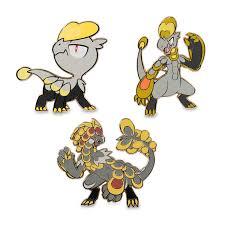 Jangmo-o, Hakamo-o & Kommo-o Pokémon Pins (3-Pack)