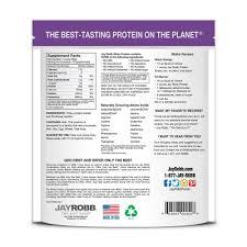 jay robb whey isolate protein