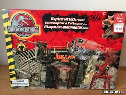 Jurassic Park Iii Raptor Attack Playset Jurassic Toys