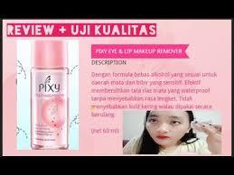 review pixy eye lip makeup remover