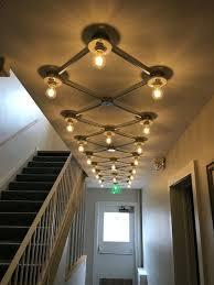 flush mount grid light ceiling