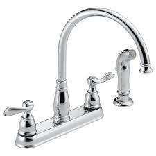 two handle kitchen faucet delta faucet