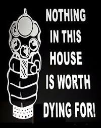 Nothing In This House Is Worth Dying For Vinyl Decal Sticker 6 Or 8 Ebay