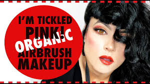 review tickled pink airbrush makeup