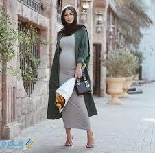 صور ملابس فساتين حوامل فخمة 2021 - موقع فكرة