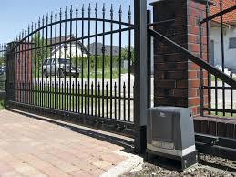 homemade manual sliding gate