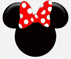 Minnie Mouse Minnie Mouse Mickey Mouse Ribbon Minnie Mouse Color Sticker Png Pngegg