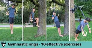 the top 10 gymnastic rings exercises