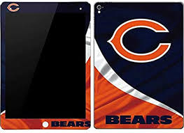 Amazon Com Skinit Decal Tablet Skin Compatible With Ipad Pro 9 7in Officially Licensed Nfl Chicago Bears Design Electronics