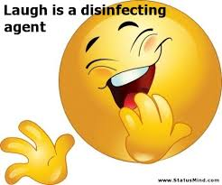 laugh is a disinfecting agent com