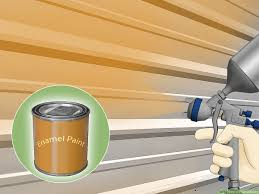 4 Ways To Paint A Fence Wikihow