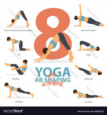 8 yoga poses for ab shaping workout