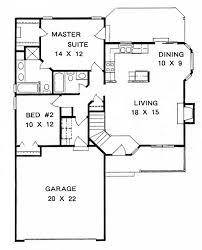 house plan 62508 ranch style with