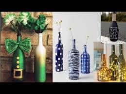 glass bottle decoration ideas home