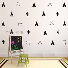 Teepee Tent Arrow Diy Decals Strong Self Adhesive Wall Sticker For Kids Baby Nursery Wall Decor Stickers Vinyl Jw590 Sh190924 Bedroom Stickers For Walls Bedroom Wall Art Stickers From Hai08 12 01 Dhgate Com