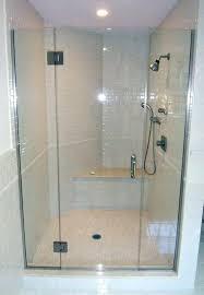 glass panel decorating bathrooms