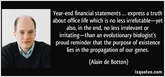 quotes on financial year end