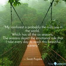 my rainforest is probabl quotes writings by swati pugalia