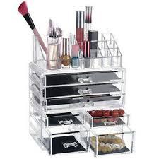 acrylic makeup organizer case 7 drawers