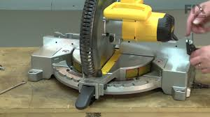 Dewalt Miter Saw Repair How To Replace The Fence Youtube