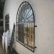 Factory Price Wrought Iron Window Grills Security Welded Iron Window Guard Design Fence Window Grill Design