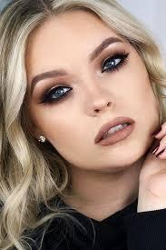 makeup for blue eyes dark hair